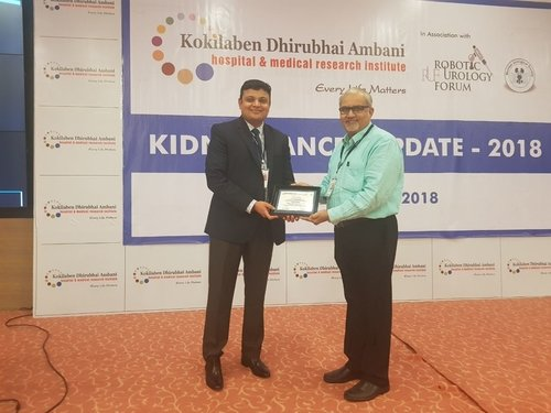 Invited As Faculty And Speaker At Kidney Cancer Update 2018 Robotic Surgeon Pune